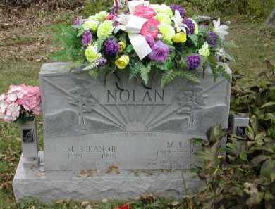 MCBRIDE NOLAN, M. ELEANOR - Gallia County, Ohio | M. ELEANOR MCBRIDE NOLAN - Ohio Gravestone Photos
