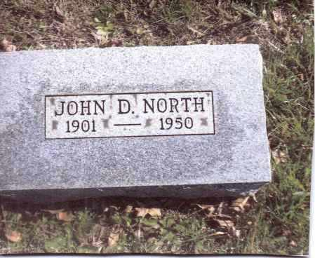 NORTH, JOHN D. - Gallia County, Ohio | JOHN D. NORTH - Ohio Gravestone Photos