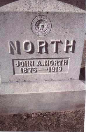 NORTH, JOHN A. - Gallia County, Ohio | JOHN A. NORTH - Ohio Gravestone Photos