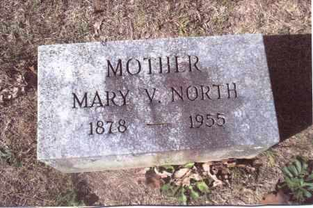 HALFHILL NORTH, MARY V. - Gallia County, Ohio | MARY V. HALFHILL NORTH - Ohio Gravestone Photos