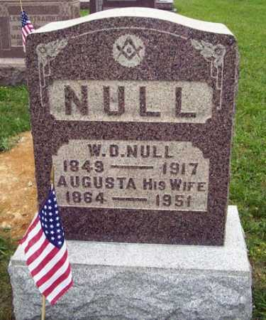 NULL, WILLIAM DILL - Gallia County, Ohio | WILLIAM DILL NULL - Ohio Gravestone Photos