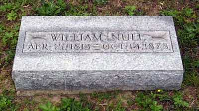 NULL, WILLIAM T. - Gallia County, Ohio | WILLIAM T. NULL - Ohio Gravestone Photos