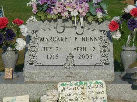 NUNN, MARGARET F - Gallia County, Ohio | MARGARET F NUNN - Ohio Gravestone Photos