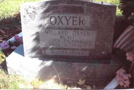 OXYER, WILLARD - Gallia County, Ohio | WILLARD OXYER - Ohio Gravestone Photos