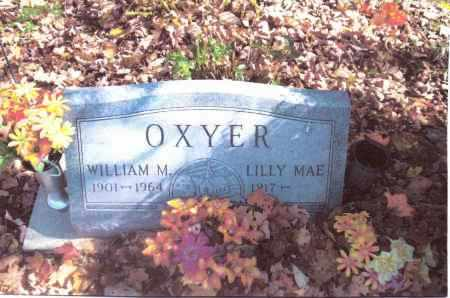 OXYER, LILLY MAE - Gallia County, Ohio | LILLY MAE OXYER - Ohio Gravestone Photos