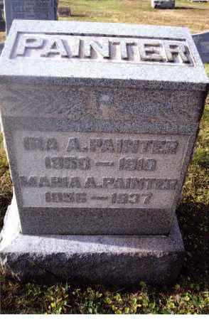 PAINTER, IRA A. - Gallia County, Ohio | IRA A. PAINTER - Ohio Gravestone Photos