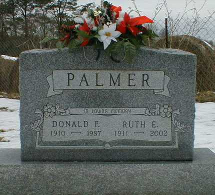PALMER, DONALD - Gallia County, Ohio | DONALD PALMER - Ohio Gravestone Photos