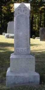 PARKER, D. - Gallia County, Ohio | D. PARKER - Ohio Gravestone Photos