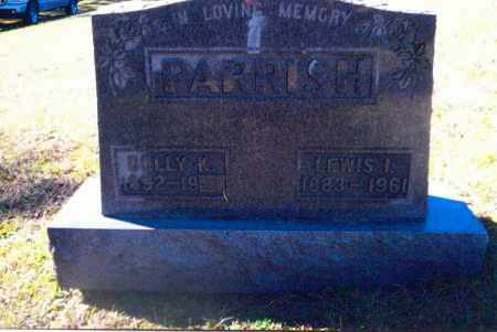 PARRISH, LEWIS I. - Gallia County, Ohio | LEWIS I. PARRISH - Ohio Gravestone Photos