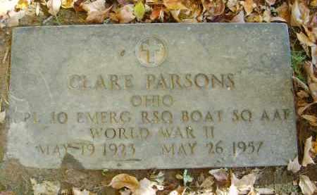 PARSONS, CLARE - Gallia County, Ohio | CLARE PARSONS - Ohio Gravestone Photos