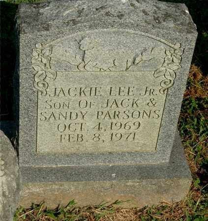 PARSONS, JACKIE LEE, JR - Gallia County, Ohio | JACKIE LEE, JR PARSONS - Ohio Gravestone Photos