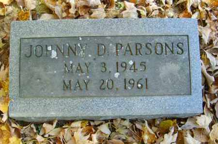 PARSONS, JOHNNY - Gallia County, Ohio | JOHNNY PARSONS - Ohio Gravestone Photos