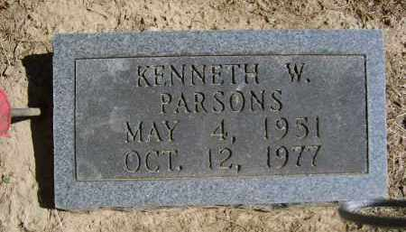 PARSONS, KENNETH - Gallia County, Ohio | KENNETH PARSONS - Ohio Gravestone Photos