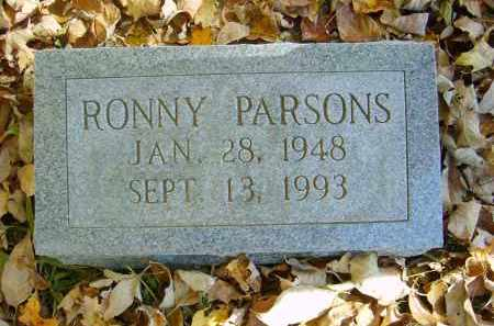 PARSONS, RONNY - Gallia County, Ohio | RONNY PARSONS - Ohio Gravestone Photos