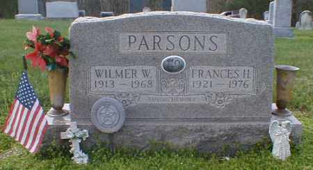 PARSONS, FRANCES - Gallia County, Ohio | FRANCES PARSONS - Ohio Gravestone Photos