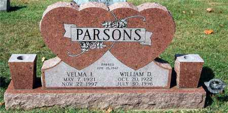 PARSONS, WILLIAM - Gallia County, Ohio | WILLIAM PARSONS - Ohio Gravestone Photos