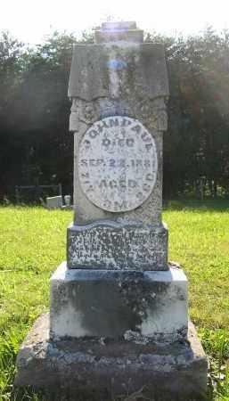 PAUL, JOHN - Gallia County, Ohio   JOHN PAUL - Ohio Gravestone Photos