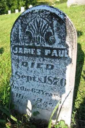 PAUL, JAMES - Gallia County, Ohio | JAMES PAUL - Ohio Gravestone Photos