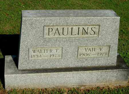 PAULINS, WALTER T - Gallia County, Ohio | WALTER T PAULINS - Ohio Gravestone Photos