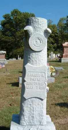 PAYNE, SAMUEL A - Gallia County, Ohio | SAMUEL A PAYNE - Ohio Gravestone Photos