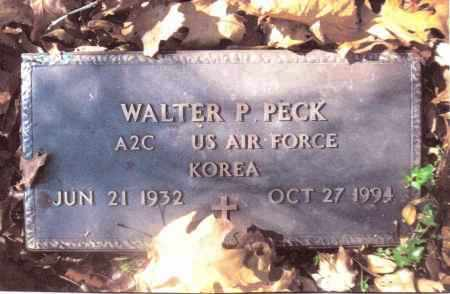 PECK, WALTER P. - Gallia County, Ohio | WALTER P. PECK - Ohio Gravestone Photos