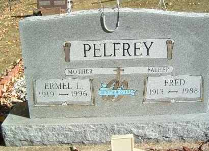PELFREY, FRED - Gallia County, Ohio | FRED PELFREY - Ohio Gravestone Photos