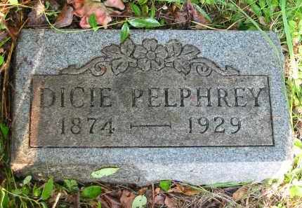 PELPHREY, DICIE - Gallia County, Ohio | DICIE PELPHREY - Ohio Gravestone Photos