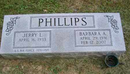 PHILLIPS, JERRY - Gallia County, Ohio | JERRY PHILLIPS - Ohio Gravestone Photos