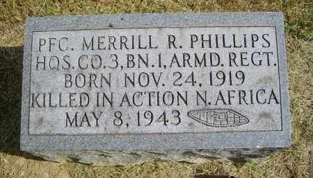 PHILLIPS, MERRILL - Gallia County, Ohio | MERRILL PHILLIPS - Ohio Gravestone Photos