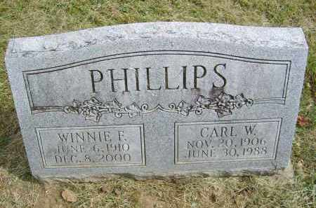 PHILLIPS, CARL - Gallia County, Ohio | CARL PHILLIPS - Ohio Gravestone Photos