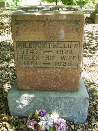PHILLIPS, WILLIAM - Gallia County, Ohio | WILLIAM PHILLIPS - Ohio Gravestone Photos