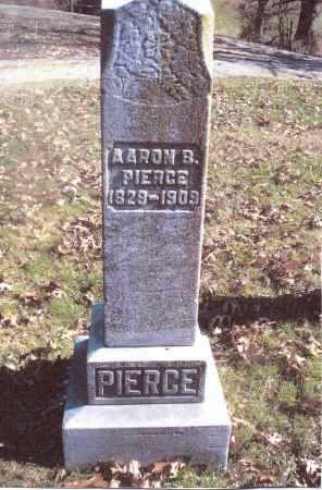 PIERCE, AARON B. - Gallia County, Ohio | AARON B. PIERCE - Ohio Gravestone Photos
