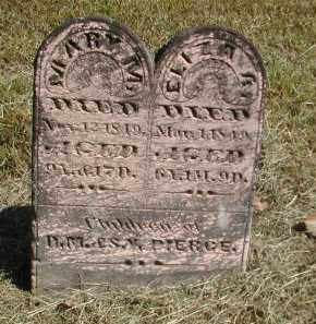 PIERCE, ELIZA - Gallia County, Ohio | ELIZA PIERCE - Ohio Gravestone Photos
