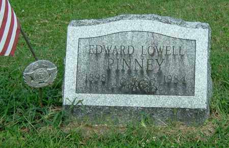 PINNEY, EDWARD LOWELL - Gallia County, Ohio | EDWARD LOWELL PINNEY - Ohio Gravestone Photos