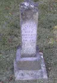PINNEY, MATTIE - Gallia County, Ohio | MATTIE PINNEY - Ohio Gravestone Photos