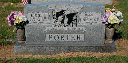 PORTER, MABEL E - Gallia County, Ohio | MABEL E PORTER - Ohio Gravestone Photos