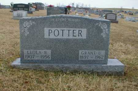 POTTER, LEOLA - Gallia County, Ohio | LEOLA POTTER - Ohio Gravestone Photos