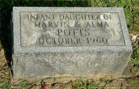 POTTS, INFANT DAU - Gallia County, Ohio | INFANT DAU POTTS - Ohio Gravestone Photos