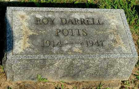 POTTS, ROY DARRELL - Gallia County, Ohio | ROY DARRELL POTTS - Ohio Gravestone Photos