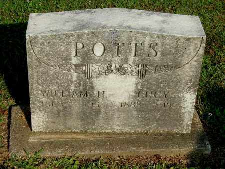 POTTS, WILLIAM H - Gallia County, Ohio | WILLIAM H POTTS - Ohio Gravestone Photos