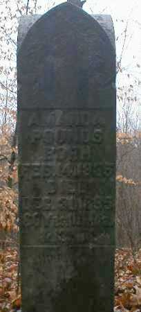 POUNDS, AMANDA - Gallia County, Ohio   AMANDA POUNDS - Ohio Gravestone Photos