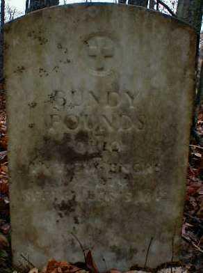 POUNDS, BUNDY - Gallia County, Ohio | BUNDY POUNDS - Ohio Gravestone Photos