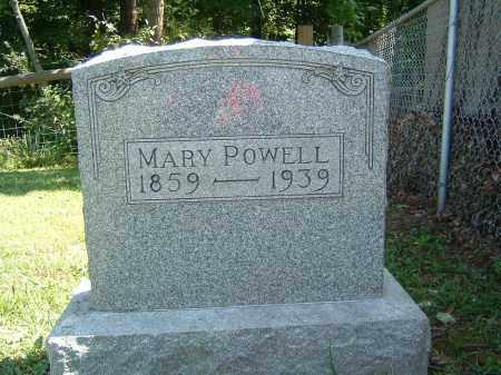 POWELL, MARY - Gallia County, Ohio | MARY POWELL - Ohio Gravestone Photos