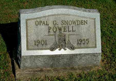 POWELL, OPAL G - Gallia County, Ohio | OPAL G POWELL - Ohio Gravestone Photos