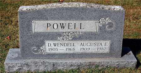 POWELL, WENDELL - Gallia County, Ohio | WENDELL POWELL - Ohio Gravestone Photos