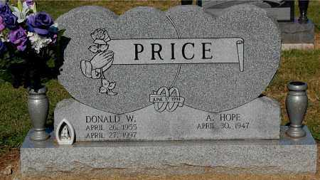 PRICE, A. HOPE - Gallia County, Ohio | A. HOPE PRICE - Ohio Gravestone Photos