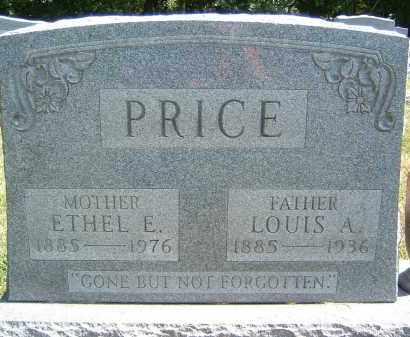 PRICE, ETHEL E. - Gallia County, Ohio | ETHEL E. PRICE - Ohio Gravestone Photos