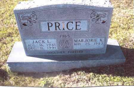 PRICE, JACK L. - Gallia County, Ohio | JACK L. PRICE - Ohio Gravestone Photos