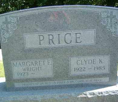 PRICE, MARGARET E - Gallia County, Ohio | MARGARET E PRICE - Ohio Gravestone Photos