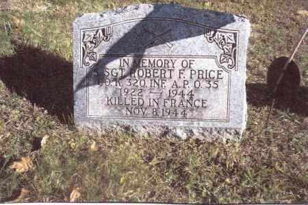 PRICE, ROBERT F. - Gallia County, Ohio | ROBERT F. PRICE - Ohio Gravestone Photos